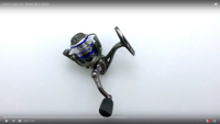 Lew's Laser Lite Speed Spin Spinning Reel Video