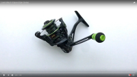 Mach II Metal Speed Spin Spinning Reel