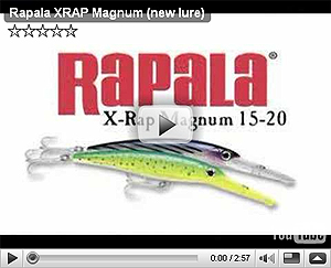 Rapala X-Rap Magnum Series Video