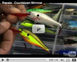 Rapala CountDown Minnow Video