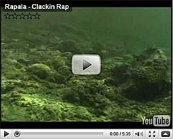 Rapala Clackin' Rap Video