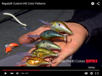 Rapala Scatter Rap Shad Video