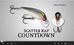 Rapala Scatter Rap CountDown Video