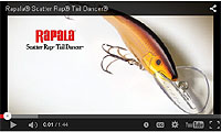 Rapala Scatter Rap Tail Dancer Video