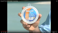 Fluorocarbon Invisible Leader Material
