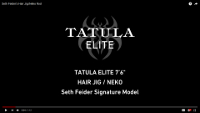 Daiwa Tatula Elite Signature Series Bass Spinning Rods Video