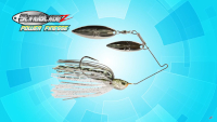 SlingBladeZ Power Finesse Double Willow Spinnerbait