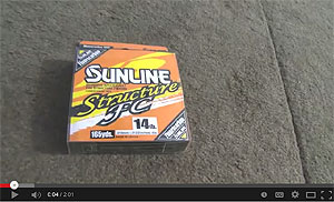 Sunline Structure FC Fluorocarbon Line Video