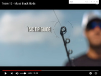 Muse Black Casting Rods