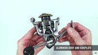 Lew's Team Lew's Custom Pro Speed Spin Spinning Reel Video