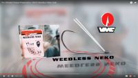 VMC WNK Weedless Neko Hook Video