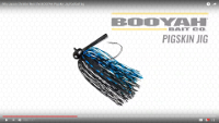 BOOYAH Pigskin Football Jig Video