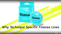Seaguar Finesse Fluorocarbon Line Video