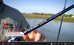 Abu Garcia Volatile Series Spinning Rods Video