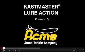 Acme Kastmaster Spoon Video
