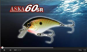 Jackall ASKA Crankbait Series Video