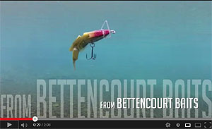 Bettencourt Baits Dying Bluegill Crankbait Video