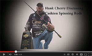 Cashion Elite Series Spinning Rods Video