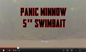 Panic Minnow Bama Swimbait