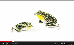 Lunkerhunt Lunker Frog Video