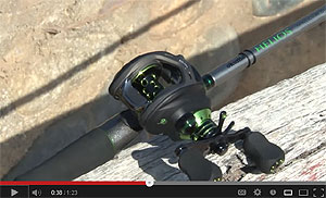 Okuma Helios 2013 Casting Reel Video