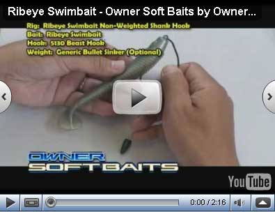 Softbaits Ribeye Swimbait