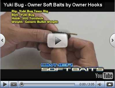 Softbait Yuki Bug Series