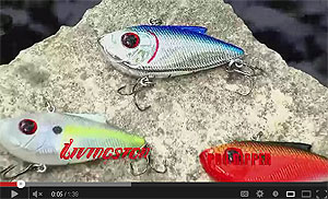 Livingston Lures Pro-Ripper Lipless Saltwater Crankbait Video