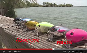 Livingston Lures Pro-Wake Crankbait Video
