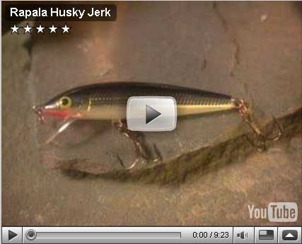 Rapala Husky Jerk Video