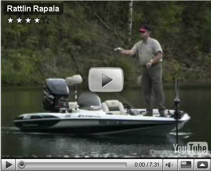 Rapala Rattlin' Rapala Video