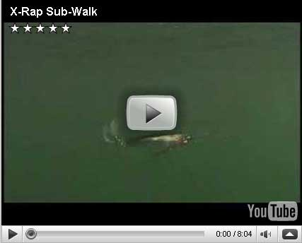 Rapala X-Rap SubWalk Video