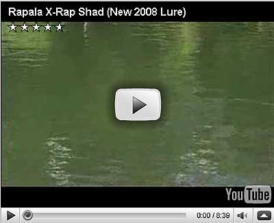 Rapala X-Rap Shad Video