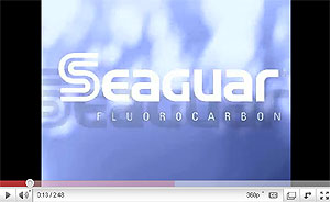 Seaguar InvizX Fluorocarbon Line Video