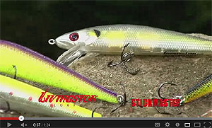 Livingston Lures Stick Master Jerkbait Video