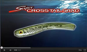 Super Cross Tail Shad
